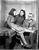 "1952 - Monica Clarke receives artificial limb (leg) from the ""Vangang"""