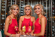 5/2/17 The Crimmins Triplets Nicola, Alison and Laura at the launch of the fabulous new restaurant The Roof Top at the Crowne Plaza in Dundalk. Picture: Arthur Carron