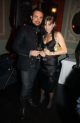 EVGENY LEBEDEV and CAROL SILLER at jeweller Stephen Webster's Christmas party held at Home House, 20 Portman Square, London W1 on 11th December 2006.<br /><br />NON EXCLUSIVE - WORLD RIGHTS