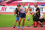 Barbara Spotakova (CZE) throws a record 68.26m to win the Javelin Throw Women during the Muller Anniversary Games at the London Stadium, London, England on 9 July 2017. Photo by Jon Bromley.