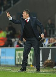 Bristol City manager, Steve Cotterill - Mandatory byline: Dougie Allward/JMP - 07966 386802 - 26/10/2015 - FOOTBALL - Cardiff City Stadium - Cardiff, Wales - Cardiff City v Bristol City - Sky Bet Championship