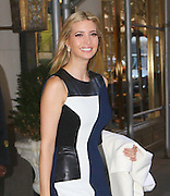 Ivanka Trump sets off to work from her Park Avenue apartment<br /> ©Exclusivepix Media