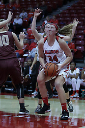 01 November 2017: Megan Talbot during a Exhibition College Women's Basketball game between Illinois State University Redbirds the Red Devils of Eureka College at Redbird Arena in Normal Illinois.