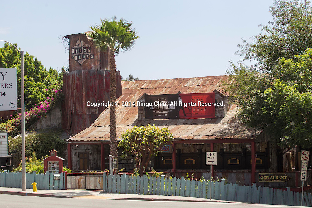 House of Blues at 8430 W Sunset Blvd. in West Hollywood.<br /> (Photo by Ringo Chiu/PHOTOFORMULA.com)