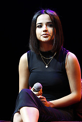 LOS ANGELES, CA - SEP 20: Becky G attends The Latin GRAMMY Acoustic Sessions at The Novo Theater September 20, 2017, in Downtown Los Angeles. Byline, credit, TV usage, web usage or linkback must read SILVEXPHOTO.COM. Failure to byline correctly will incur double the agreed fee. Tel: +1 714 504 6870.