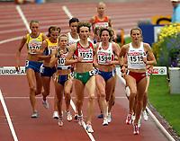Friidrett , 13. juli 2006 , Gøteborg , EM ,<br /> Europamesterskapet ,<br /> Athletics , European  Championship <br /> 3000 m hinder<br /> 1052  Alesia Turava,   <br /> 1599  Lyubov Ivanova,  <br /> 1515 Wioletta Janowska,