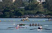 "Rio de Janeiro. BRAZIL.   2016 Olympic Rowing Regatta. Lagoa Stadium,<br /> Copacabana,  ""Olympic Summer Games""<br /> Rodrigo de Freitas Lagoon, Lagoa. Local Time 12:38:32   Saturday  06/08/2016 <br /> <br /> [Mandatory Credit; Peter SPURRIER/Intersport Images]"