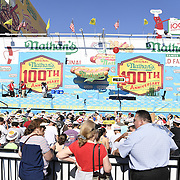 Nathan's 2016 Hot Dog Contest