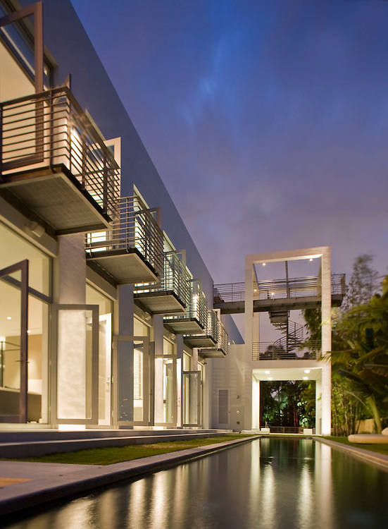 Belvedere House Miami Architect Shulman + Associates 2009