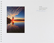 PRODUCT: Book<br /> TITLE: The Canadian Gallery<br /> CLIENT: Friesens / Grandmaison Photography