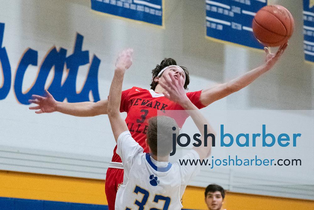 Newark Valley's Kyle Coffin, during the game at Lansing High School on Thursday, December 20, 2018 in Lansing, New York. (Photo/Josh Barber)