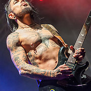 BALTIMORE United States - September 27, 2014: Dave Navarro of Jane's Addiction, performs at The Shindig, in Baltimore's historic Carroll Park