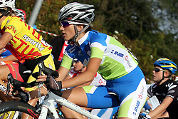 Polona Batagelj (Slovenia) during the the Women´s Elite Road Race on day five of the UCI Road World Championships on September 24, 2011 in Copenhagen, Denmark. (Photo by Marjan Kelner / Sportida Photo Agency)