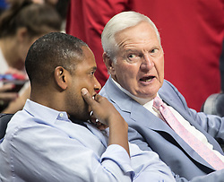 October 21, 2017 - Los Angeles, California, U.S - L.A. Clippers consultant Jerry West attends the Los Angeles Clippers home opener game of the regular season against the Phoenix Suns on Saturday October 21, 2017 at the Staples Center in Los Angeles, California. Clippers defeat Suns, 130-88. (Credit Image: © Prensa Internacional via ZUMA Wire)