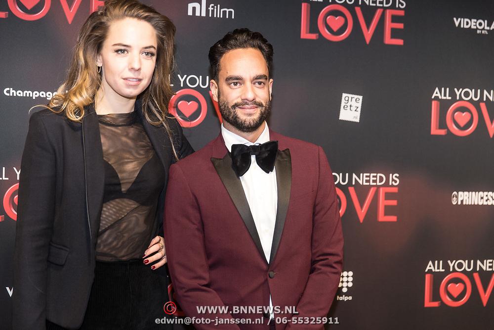 NLD/Amsterdam/20181126 - premiere All You Need Is Love, Freek Bartels en ......
