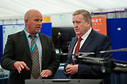 Date: 29/06/2017 Repro free:    Caption: Pat Breen TD Minister for Trade, Employment, Business, EU Digital Single Market and Data Protection with Sean Commins, Geological survey, Ireland  Photo: xposure