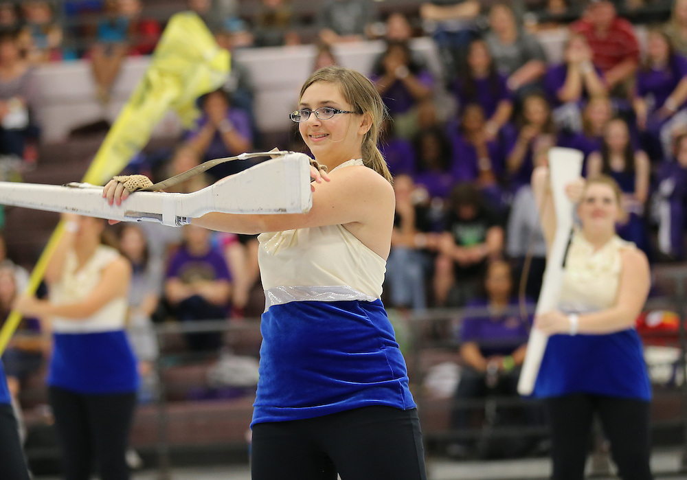 Louisiana Colorguard and Percussion Circuit first show of the 2013 season hosted by Crescent City at Denham Springs High School.