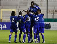 Fotball<br /> Frankrike v Qatar<br /> Foto: DPPI/Digitalsport<br /> NORWAY ONLY<br /> <br /> FOOTBALL - UNDER 21 - INTERNATIONAL TOULON FESTIVAL - FRANCE v QATAR - 4/06/2009 <br /> <br /> BAKARY SAKO JOY AFTER GOAL (FRA)