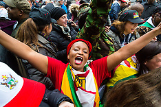 2017-11-18 Zimbabweans in London celebrate Mugabe's ouster by military