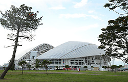 A General view of the Fisht Olympic Stadium