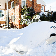 A shot taken in Arlington, VA, after the massive snowstorm that hit Washington DC in early February 2010, jokingly referred to locally as snowmageddon or snowpocalypse. Several feet of snow shut down transportation in the area and closed the Federal Government for several days.