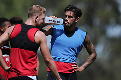 Marlon Pack of Bristol City talks with Scott Wagstaff of Bristol City  - Photo mandatory by-line: Joe Meredith/JMP - Mobile: 07966 386802 - 17/07/2015 - SPORT - Football - Albufeira -  - Pre-Season Training