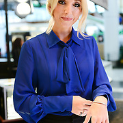 CHERRY HILL, NJ - OCTOBER 25:  Country singer Ashley Monroe tries on The Exclusive Platinum Love Bridal Jewelry Collection by Platinum Guild International USA at Littman Jewelers in The Cherry Hill Mall on October 25, 2015 in Cherry Hill, New Jersey.  (Photo by Lisa Lake/Getty Images for Platinum Guild International USA)