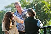 Duke and Duchess of Cambridge visit Taronga Zoo, Sydney , Australia. Catherine, Duchess of Cambridge and Prince William, Duke of Cambridge meet a Koala, 20 April 2014