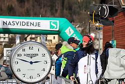 Lucija Valencak (RTV Slovenija) during the Ladies' Slalom at 56th Golden Fox event at Audi FIS Ski World Cup 2019/20, on February 16, 2020 in Podkoren, Kranjska Gora, Slovenia. Photo by Morgan Kristan / Sportida