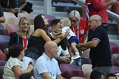 England v Croatia WAGS - 11 July 2018
