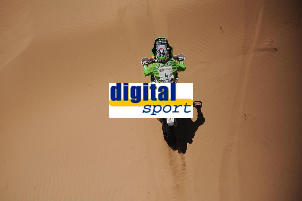 MOTORSPORT - DAKAR ARGENTINA CHILE 2010 - STAGE 8 - ANTOFAGASTA (CHI) / COPIAPO (CHI) - 10/01/2010- PHOTO : DPPI<br /> 4 - PAL ULLEVALSETER  ( NOR ) - KTM   - ACTION