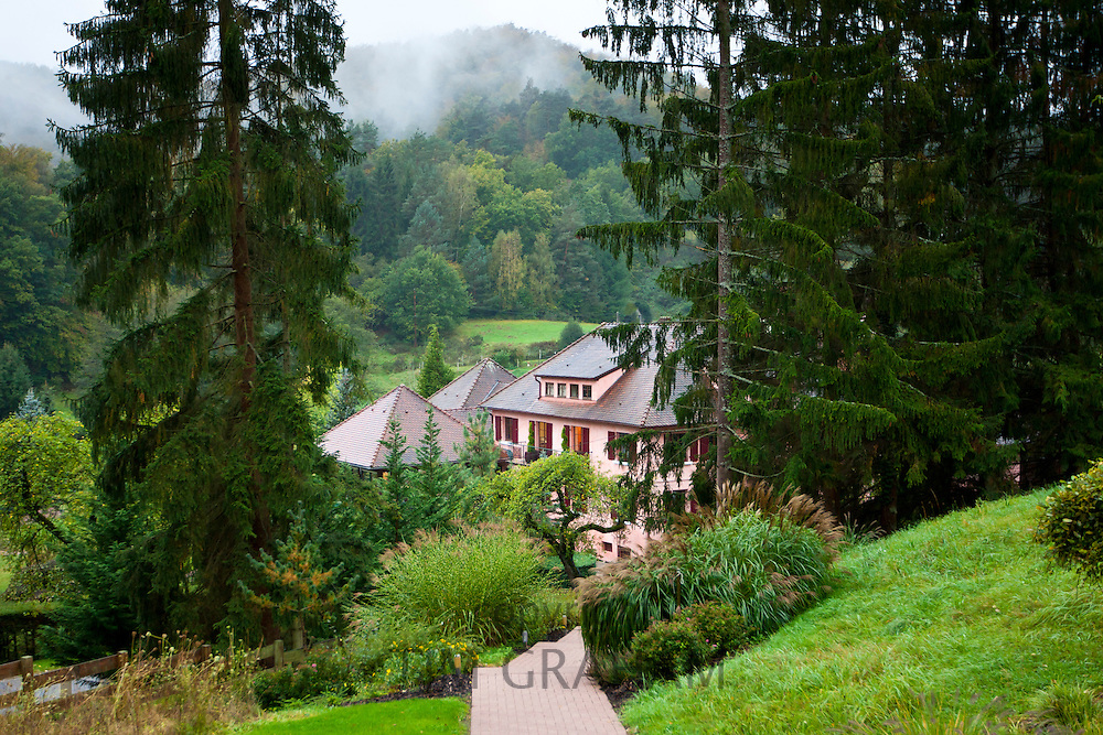 Hotel L'Arnsbourg - Hotel K at Baerenthal, Moselle, in the French Alps, France