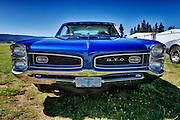 USA, Oregon, Hood River, Western Antique Aeroplane and Automobile Museum, Pontiac GTO.