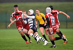 Iwan Hughes (SGS College) of Bristol Rugby Academy U18 - Mandatory by-line: Paul Knight/JMP - 11/02/2017 - RUGBY - SGS Wise Campus - Bristol, England - Bristol Academy v Gloucester Academy - Premiership Rugby Academy U18 League