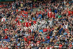 March 10, 2018 - Vancouver, British Columbia, U.S. - VANCOUVER, BC - MARCH 10: More interesting crowd costumes during the Canada Sevens held March 10-11, 2018 in BC Place Stadium in Vancouver, BC. (Photo by Allan Hamilton/Icon Sportswire) (Credit Image: © Allan Hamilton/Icon SMI via ZUMA Press)