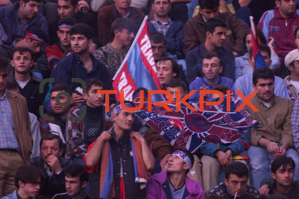 Turkish soccer...<br /> Turkish soccer super league team Trabzonspor's fan. <br /> Photo by Aykut AKICI/TurkSporFoto