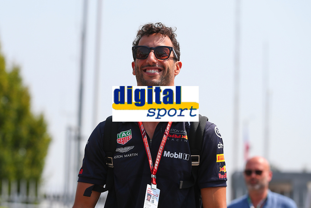 Daniel Ricciardo Aston Martin RedBull Racing<br /> Monza 30-08-2018 GP Italia <br /> Formula 1 Championship 2018 <br /> Foto Federico Basile / Insidefoto