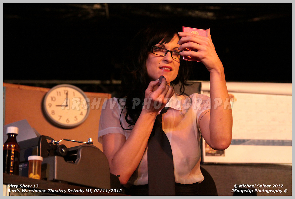 DETROIT, MI, SATURDAY, FEB. 11, 2012: Dirty Show 13, Domestic Tranquility at Bert's Warehouse Theatre, Detroit, MI, 02/11/2012.  (Image Credit: Michael Spleet / 2SnapsUp Photography)
