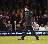 Photo: Kevin Poolman.<br />Luton Town v Derby County. Coca Cola Championship. 18/11/2006. Luton boss Mike Newell after his side lost to Derby.