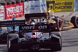 LONG BEACH, CA - APR 15: IndyCar Series driver Will Power drives during qualifying during the 2012 Toyota Grand Prix of Long Beach. All fees must be ageed prior to publication,.Byline and/or web usage link must  read SILVEX.PHOTOSHELTER.COM Photo by Eduardo E. Silva