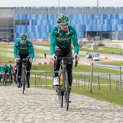 SITTARD (NED) WIELRENNEN<br />De elite-beloften van Allinq-Krush-De IJsselstreek zijn op trainingskamp in Limburg.<br />Arjen Arentsen
