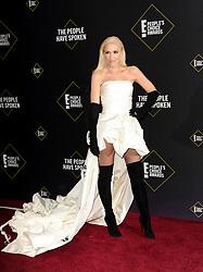 Gwen Stefani at the 2019 E! People's Choice Awards held at the Barker Hangar in Santa Monica, USA on November 10, 2019.