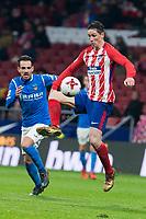Atletico de Madrid Fernando Torres during King's Cup match between Atletico de Madrid and Lleida Esportiu at Wanda Metropolitano in Madrid, Spain. January 09, 2018. (ALTERPHOTOS/Borja B.Hojas)