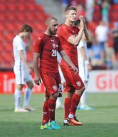 2016.06.05 Praga, Czechy <br /> Pilka Nozna Reprezentacja Mecz towarzyski<br /> Czechy - Korea Poludniowa<br /> N/z Skalak Jiri, Skoda Milan<br /> Foto Rafal Rusek / PressFocus<br /> <br /> 2016.06.05 Praha Czech Republic<br /> Football Friendly Game<br /> Czech Republic - Korea Republic<br /> Skalak Jiri, Skoda Milan<br /> Credit: Rafal Rusek / PressFocus