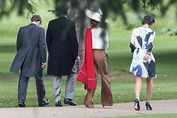 Guests arrive at Pippa Middletons wedding in Englefield Berkshire<br /><br />20 May 2017.<br /><br />Please byline: Vantagenews.com