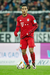 16.01.2016, Wildparkstadion, Karlsruhe, GER, Testspiel, Karlsruher SC vs FC Bayern Muenchen, im Bild Thiago (FC Bayern Muenchen) mit Ball // during a preperation Football Match between Karlsruher SC and FC Bayern Munich at the Wildparkstadion in Karlsruhe, Germany on 2016/01/16. EXPA Pictures © 2016, PhotoCredit: EXPA/ Eibner-Pressefoto/ Neis<br /> <br /> *****ATTENTION - OUT of GER*****