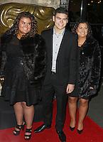 Amy Tapper, Josh Tapper & Nikki Tapper, British Academy Children's Awards, Roundhouse Camden, London UK, 22 November 2015, Photo by Brett D. Cove