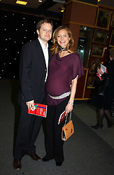 Actress TRACY SHAW and boyfriend ASHLEY POUNDALL at the Macmillan Cancer Relief Celebrity Christmas Stocking Auction held at Christie's, South Kensington, London on 8th December 2004.<br /><br />NON EXCLUSIVE - WORLD RIGHTS