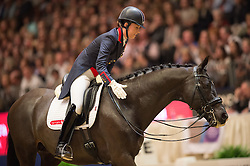 Dujardin Charlotte, (GBR), Uthopia<br /> Grand Prix Freestyle <br /> Reem Acra FEI World Cup Dressage <br /> London International Horse Show<br /> © Hippo Foto - Jon Stroud