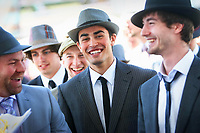 Caulfield Guineas day. Mens Fashions entrants  Pic By Craig Sillitoe 10/10/2009 SPECIAL 000